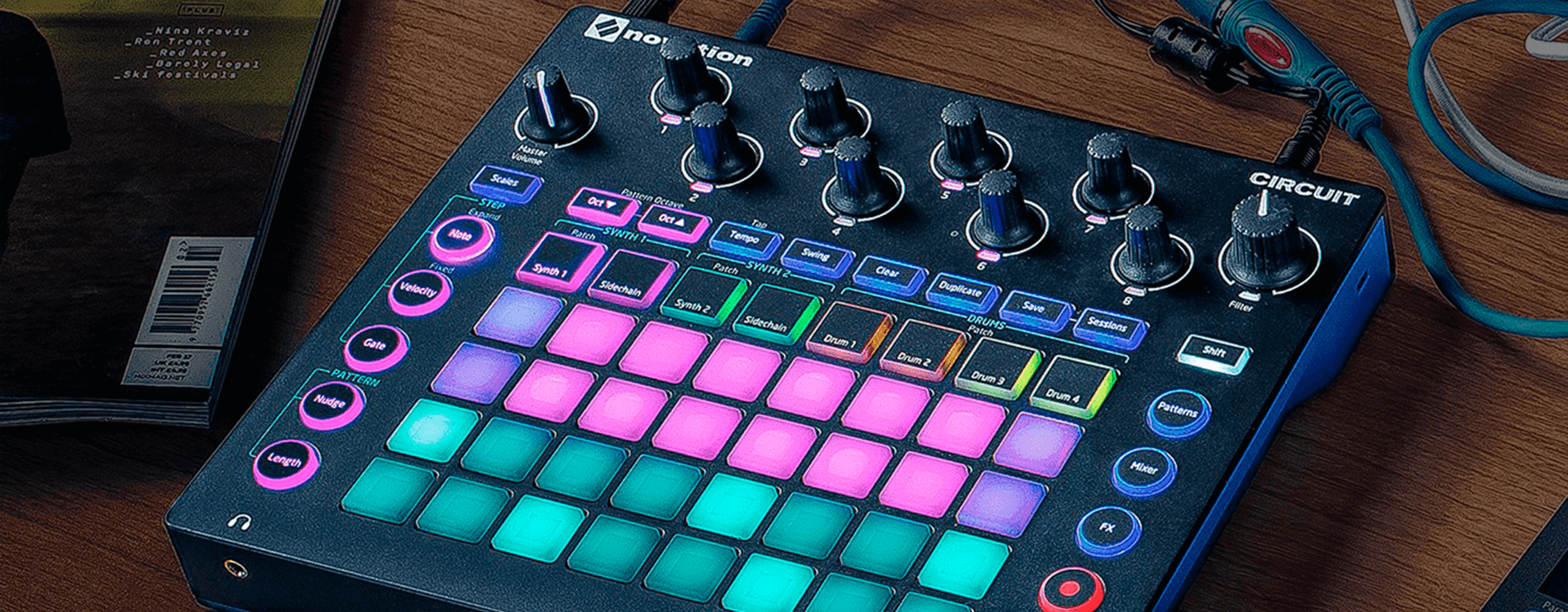 Circuits in Keys | Novation