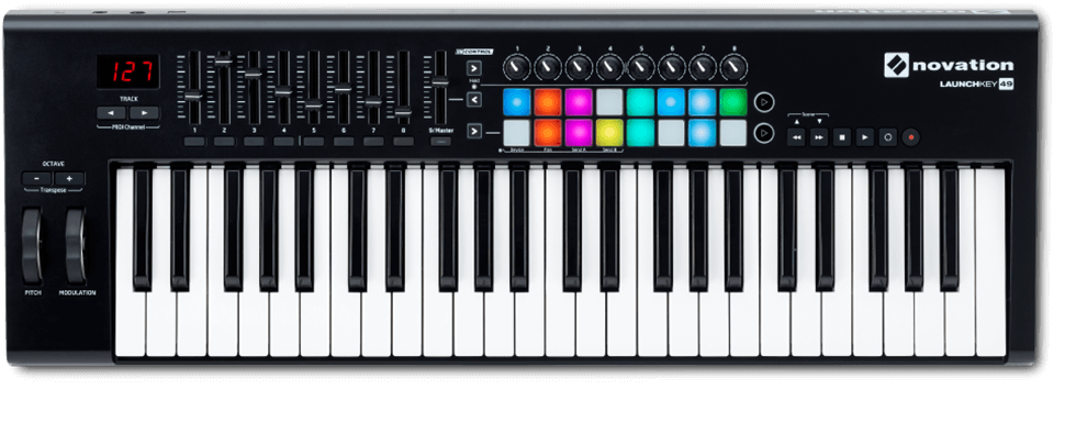 The perfect fusion of keyboard and controller for Ableton Live