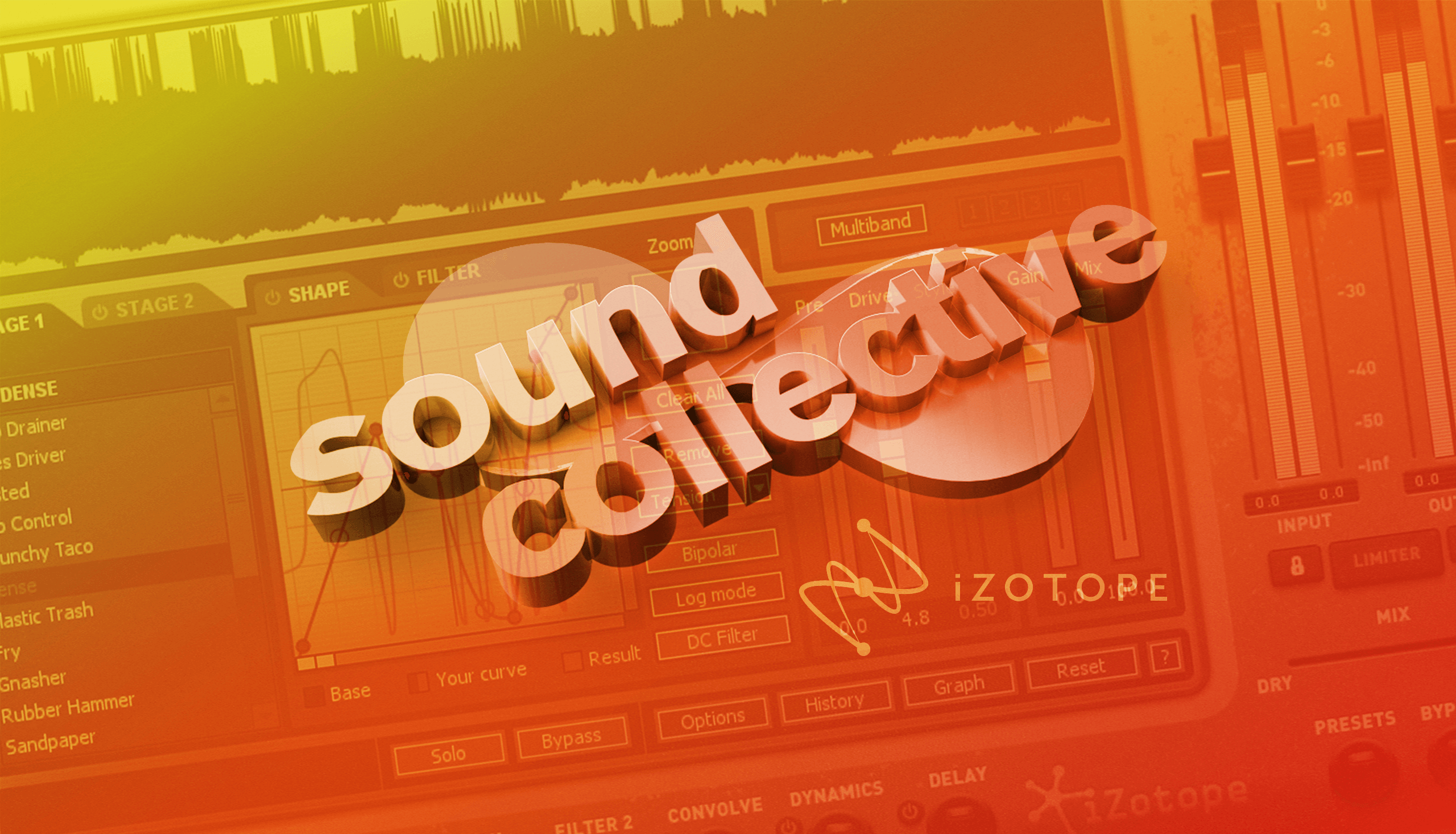 Sound Collective iZotope Homepage Desktop