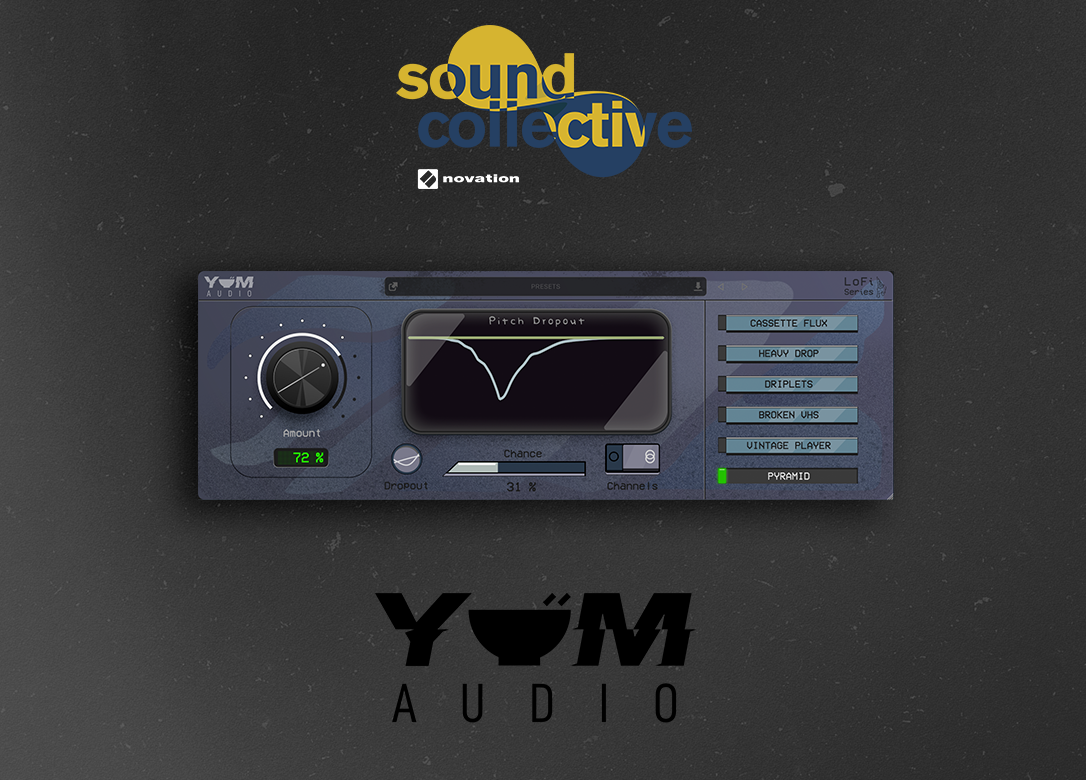 An image of Novation and Yum Audio