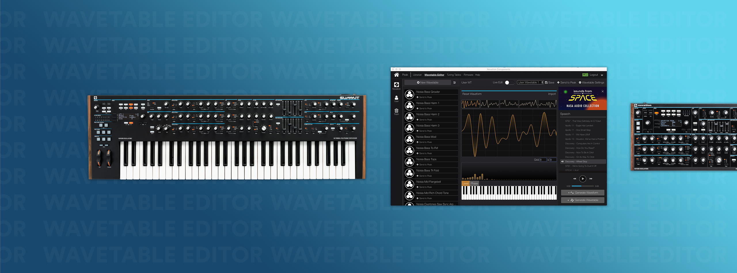Wavetable - Peak and Summit