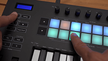 Launchkey: Chord Mode